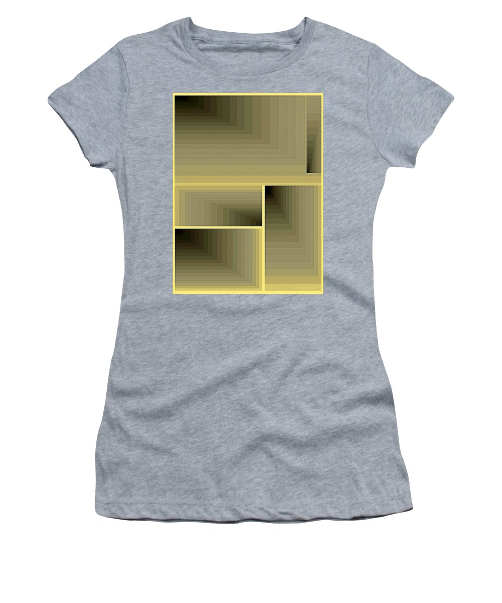 Tablet Women's T-Shirt featuring the painting Composition 70 by Terry Reynoldson