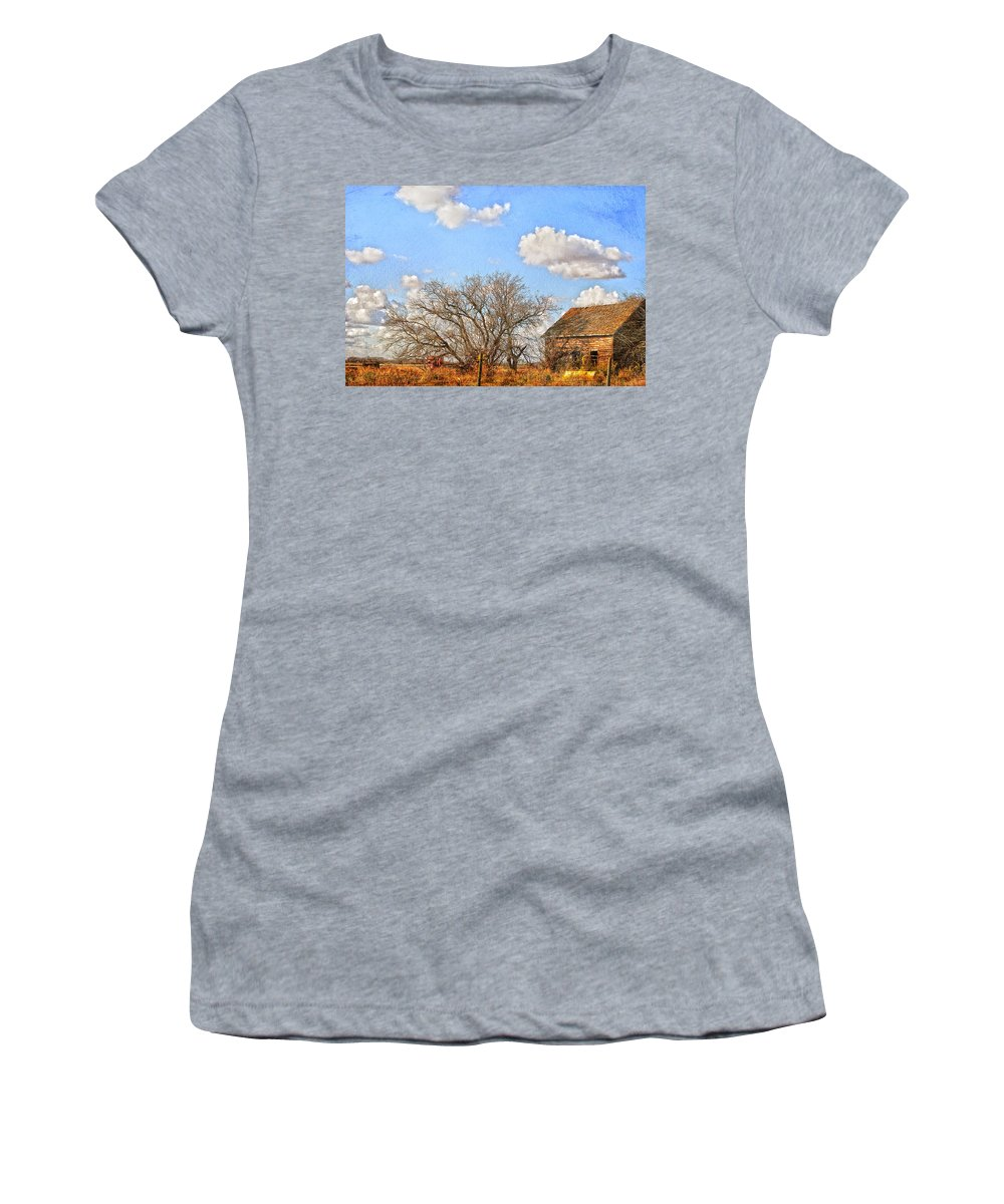 Country Women's T-Shirt featuring the photograph Country Smell by The Artist Project