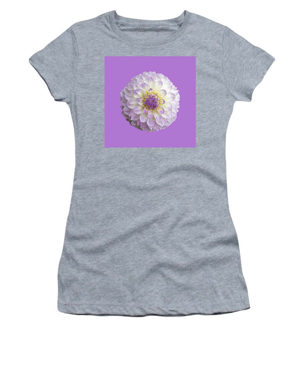 Dahlia Women's T-Shirt featuring the photograph Dahlia by Charles Harden