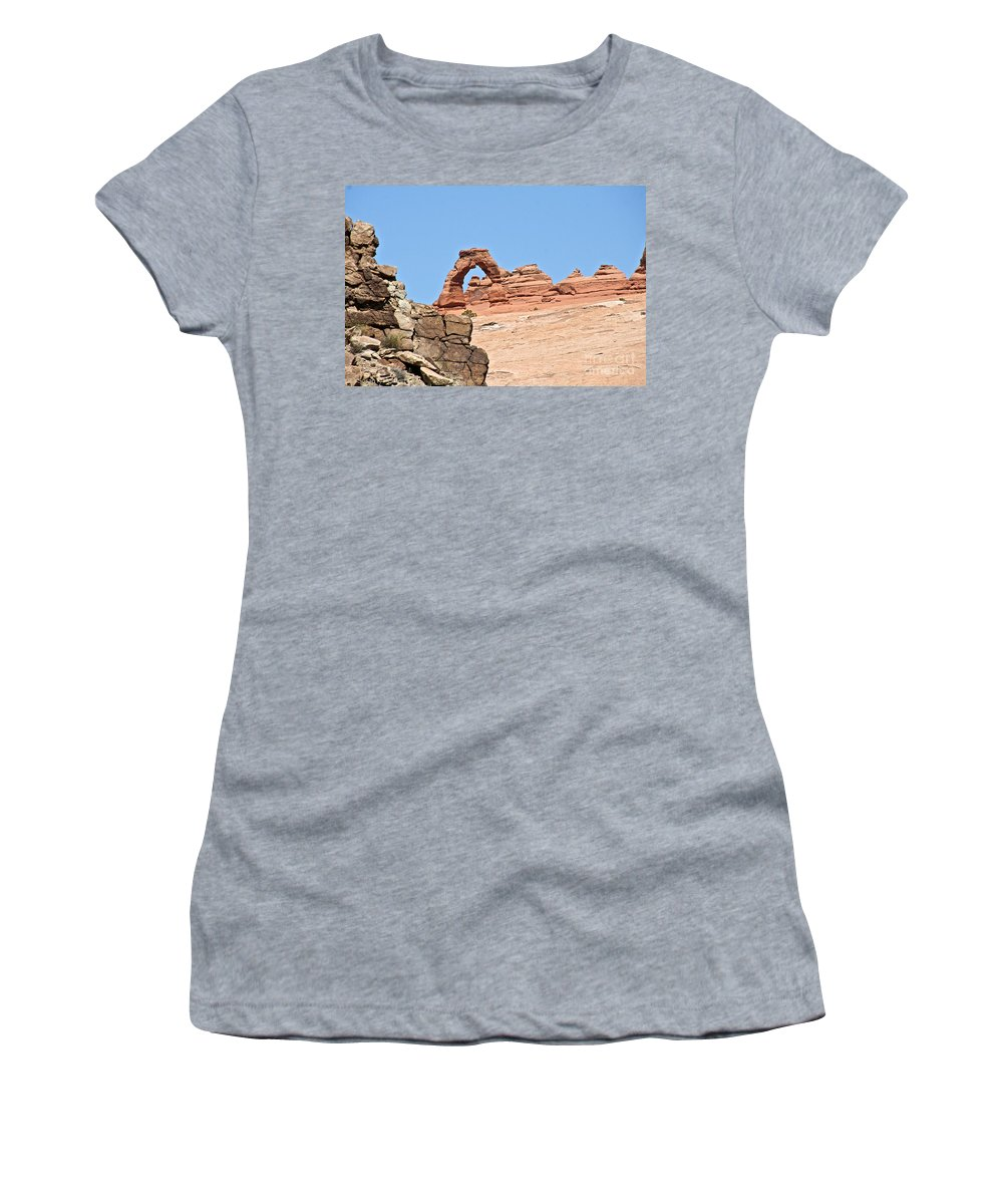 Utah Women's T-Shirt featuring the photograph Delicate Arch by Susan Herber