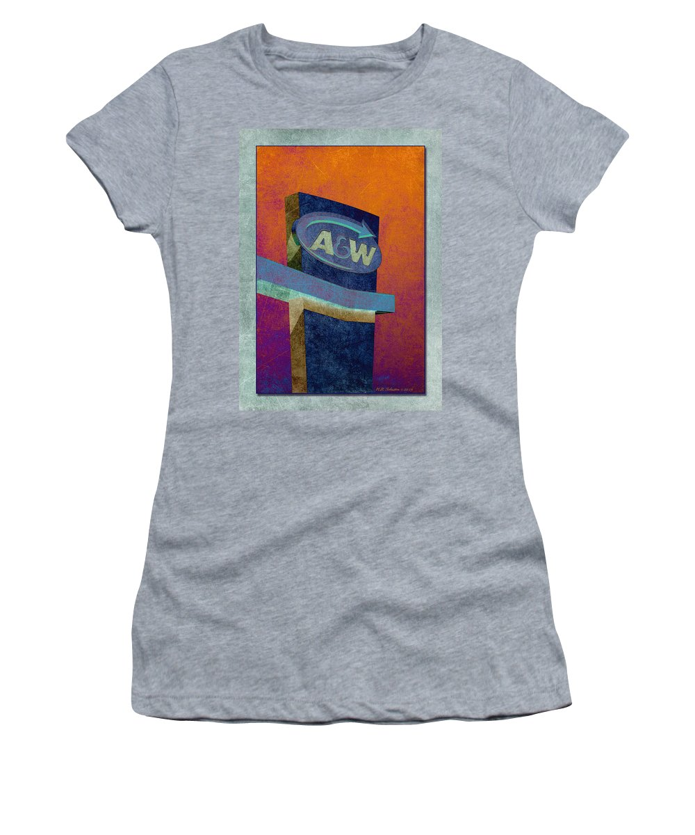 Drive Through Women's T-Shirt featuring the photograph Drive Thru II by WB Johnston