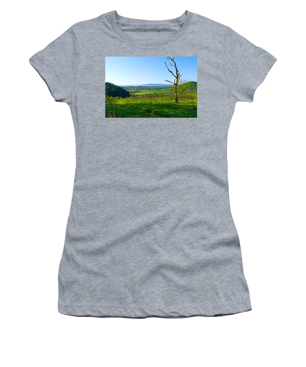 View Women's T-Shirt featuring the photograph East Tennessee by Melinda Fawver