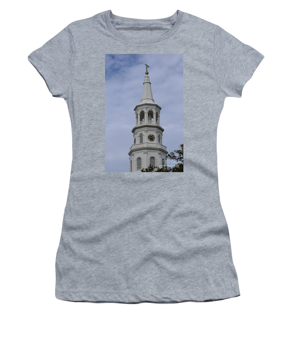 St. Michael's Church Women's T-Shirt featuring the photograph Ecclesiastical Law by Dale Powell