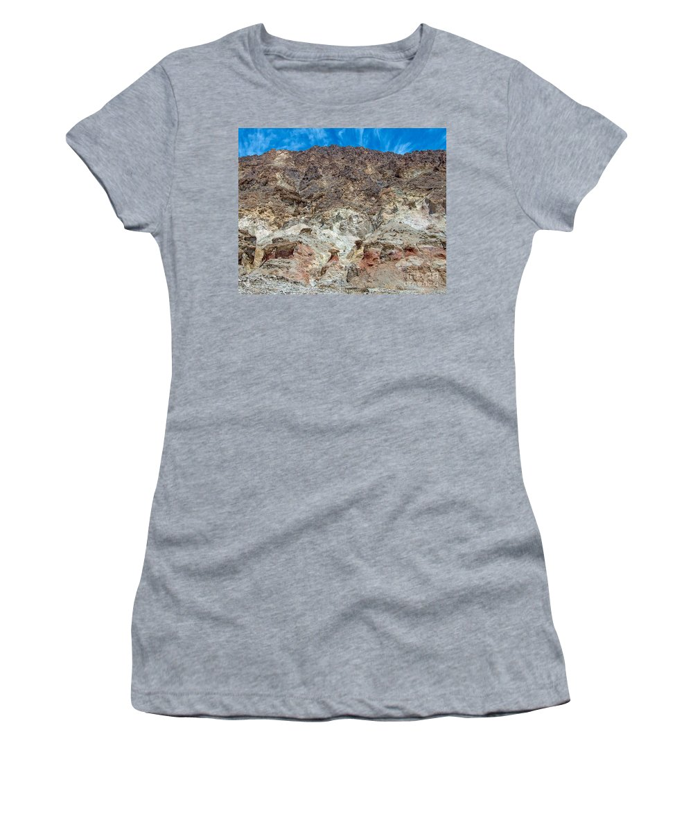 Mountain Women's T-Shirt (Athletic Fit) featuring the photograph Emergence by Stephen Whalen