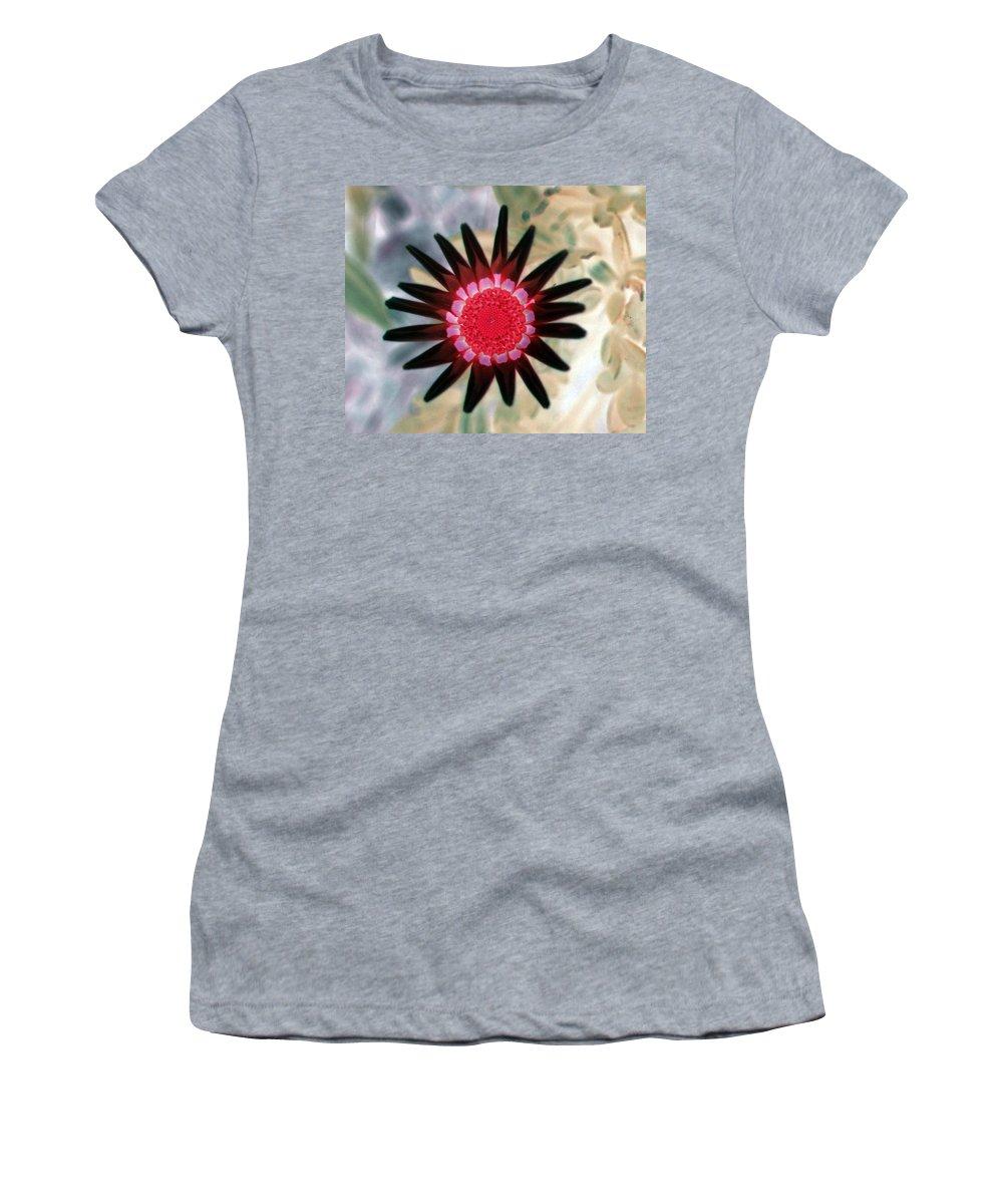 Flower Women's T-Shirt featuring the photograph Flower Power 1429 by Pamela Critchlow