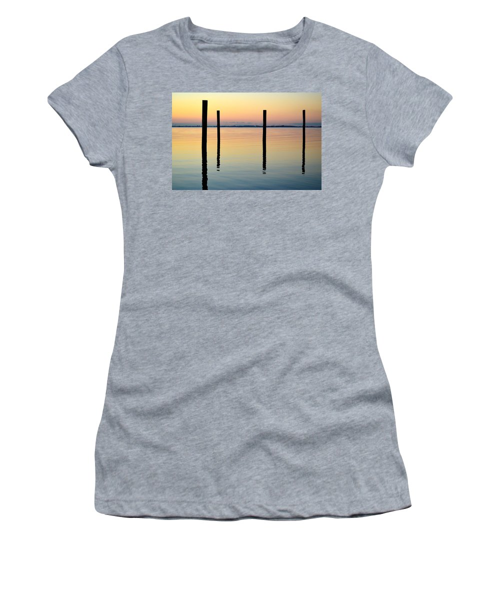 Street Photographer Women's T-Shirt featuring the photograph Forth Be Gone B by The Artist Project