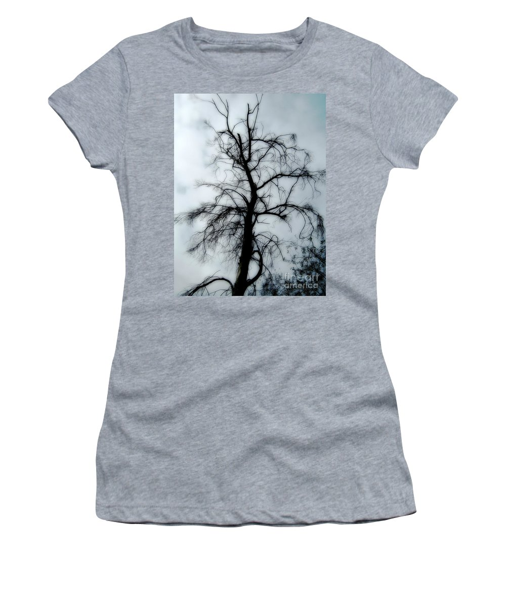 Digital Women's T-Shirt featuring the photograph Ghost Tree by Peter Awax