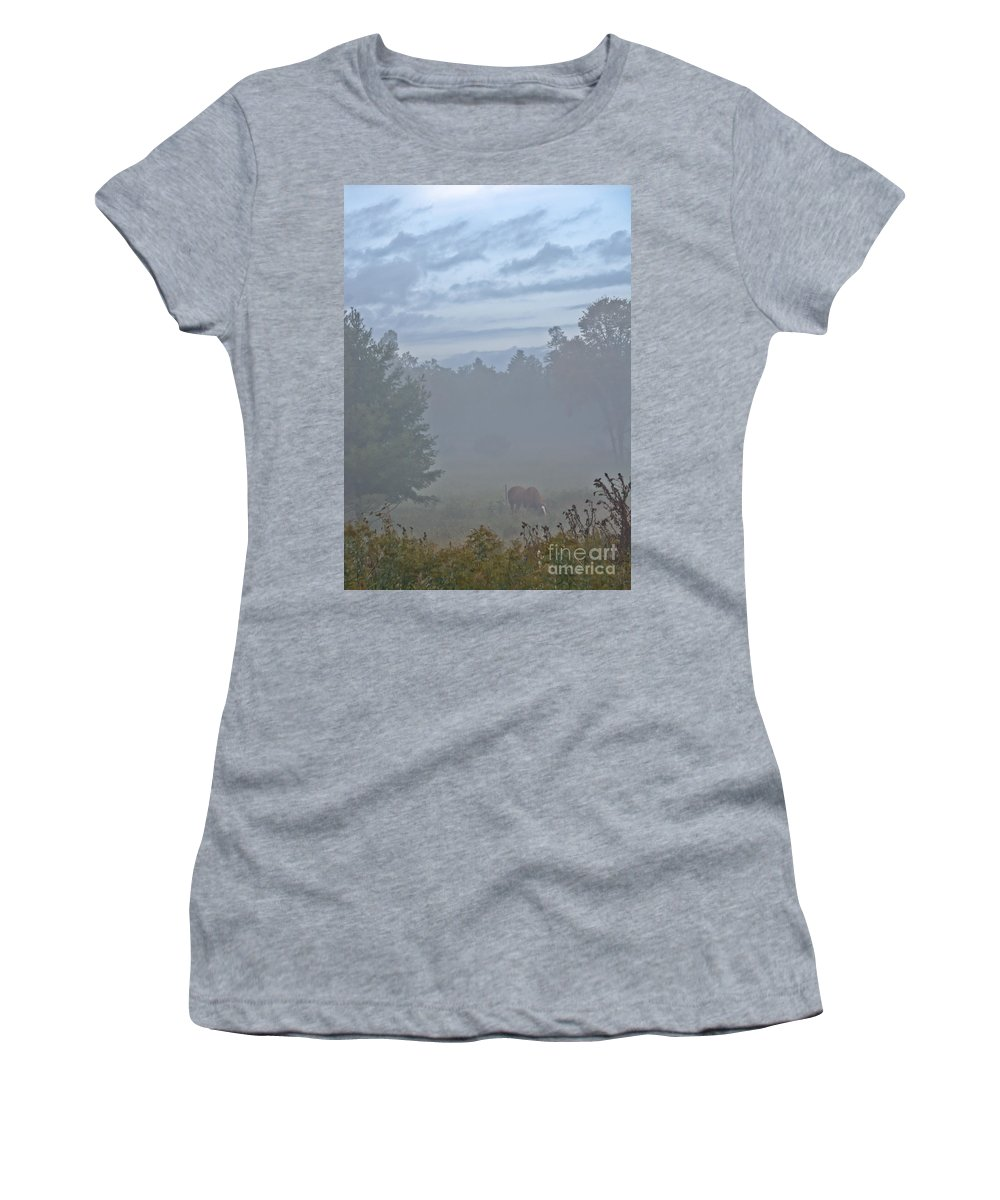 Women's T-Shirt featuring the photograph Gorgeous Morning by Cheryl Baxter