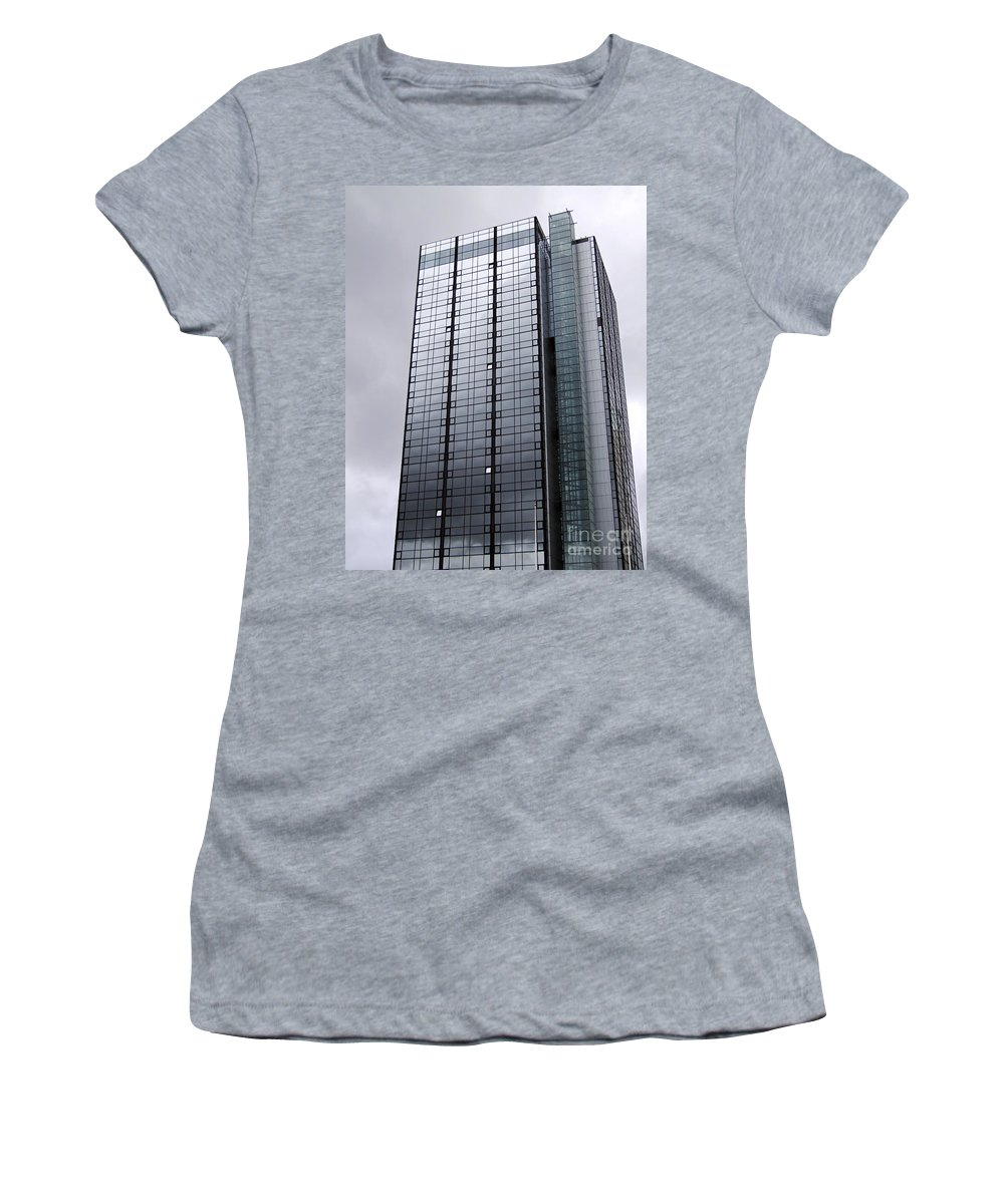 Twin Women's T-Shirt (Athletic Fit) featuring the photograph Gothia Tower by Antony McAulay