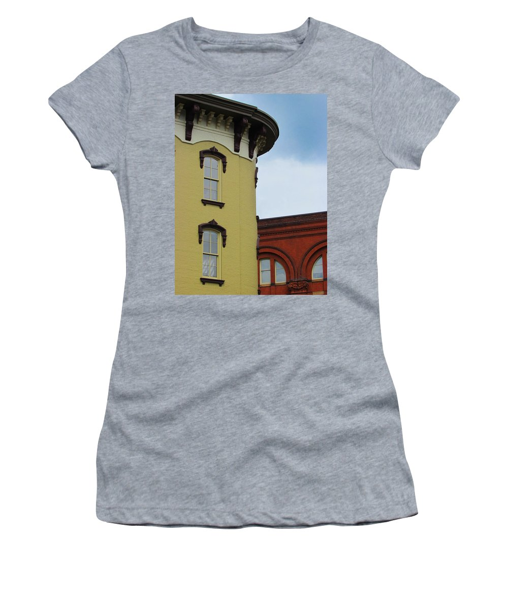 Grand Rapids Women's T-Shirt featuring the photograph Grand Rapids Downtown Architecture by David T Wilkinson