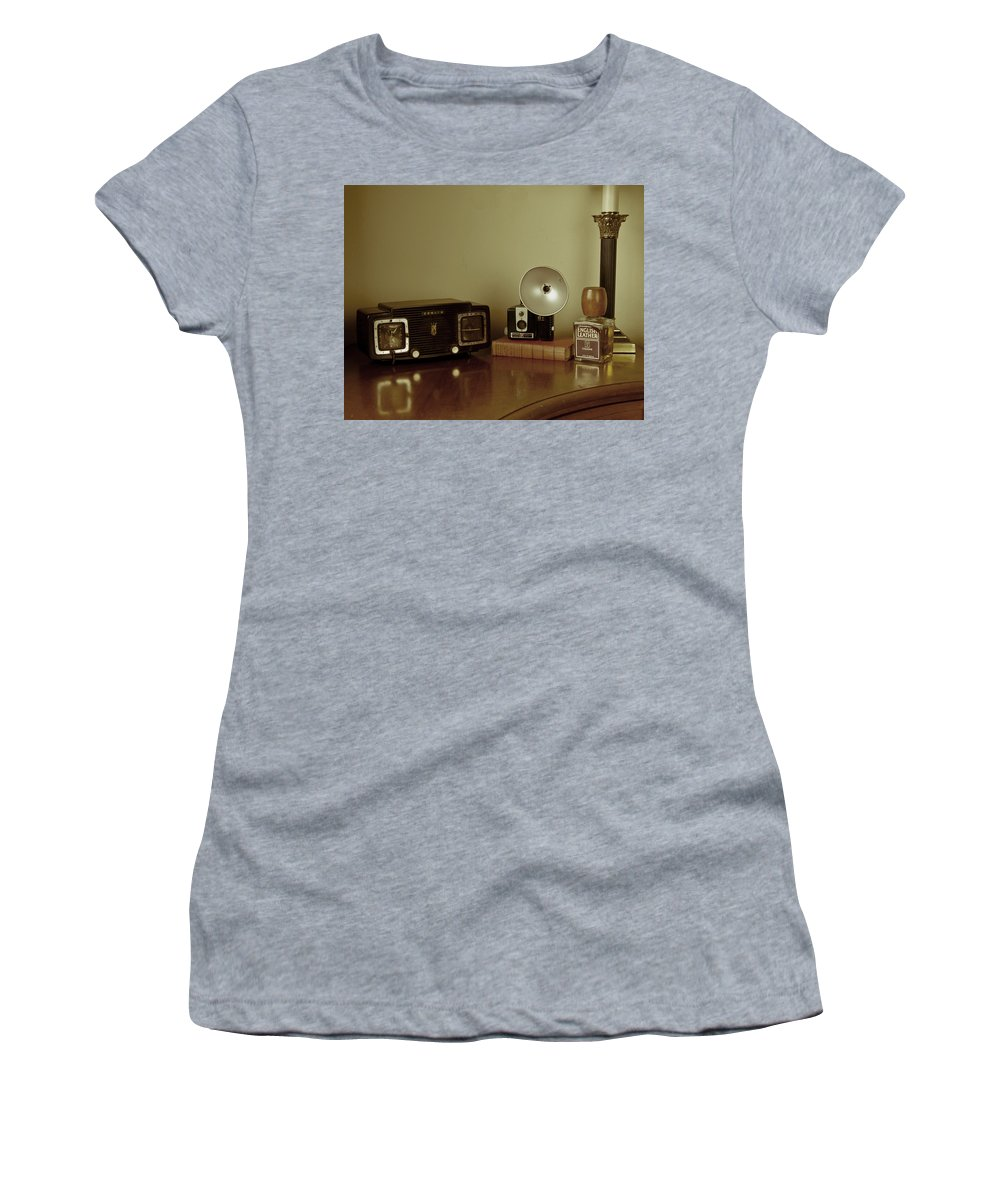 Nostalgia Women's T-Shirt featuring the photograph Grandpa's Favorites by Guillermo Rodriguez