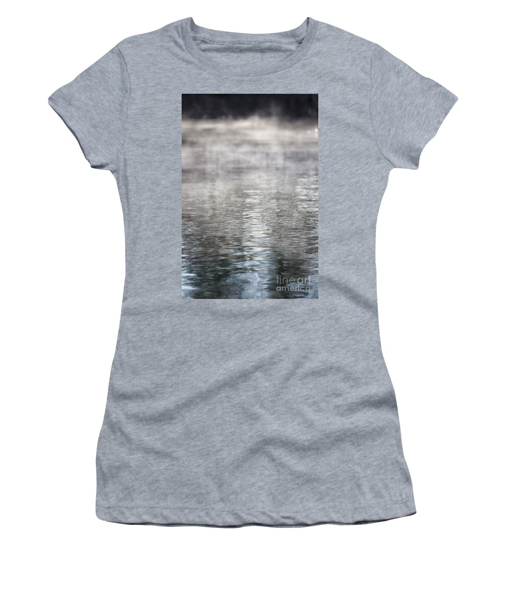 Water Women's T-Shirt featuring the photograph Hot Spring by Margie Hurwich