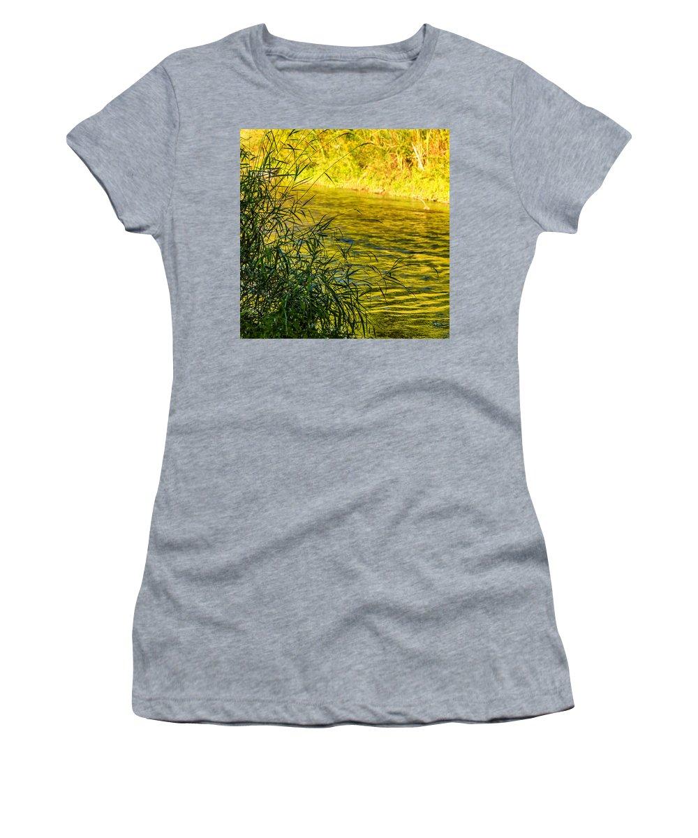 Steve Harrington Women's T-Shirt featuring the photograph In Praise Of Grass by Steve Harrington