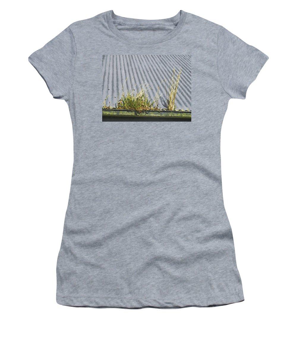 Gutter Women's T-Shirt featuring the digital art In The Gutter by Steve Taylor