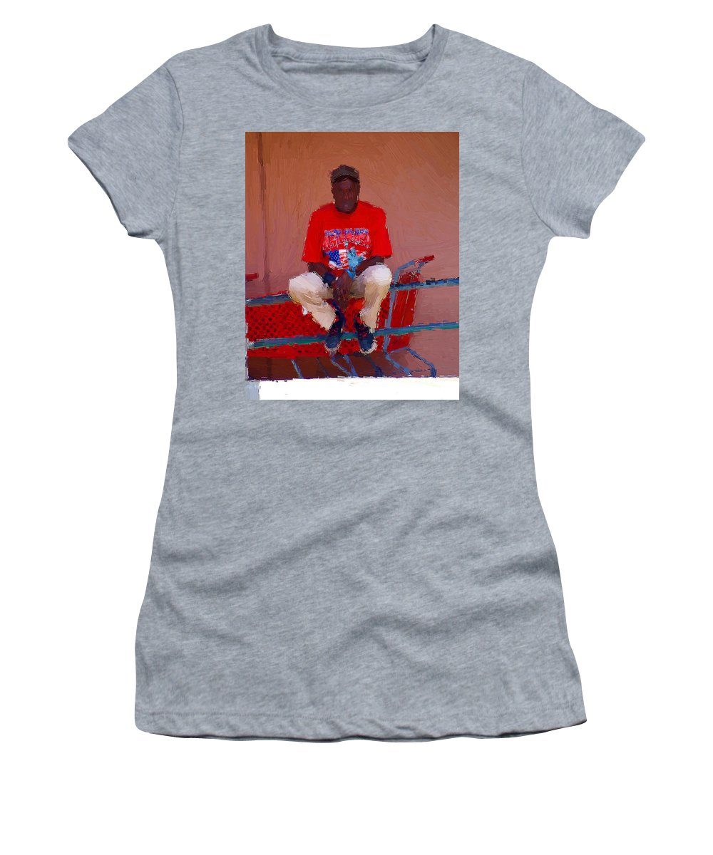Islander Women's T-Shirt featuring the photograph Islander Redd by Alice Gipson