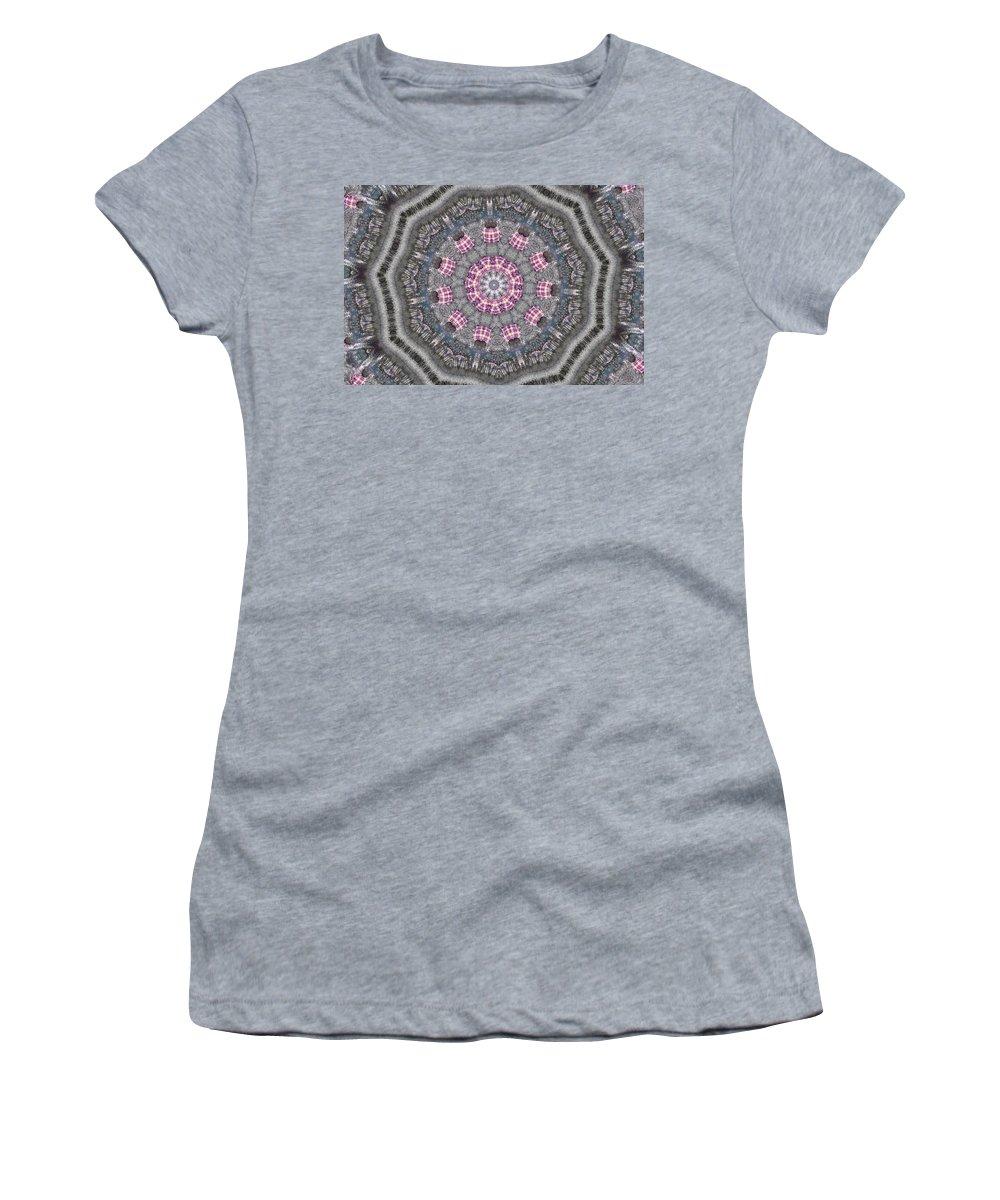 Kaleidoscope Women's T-Shirt featuring the photograph K4 by Mechala Matthews