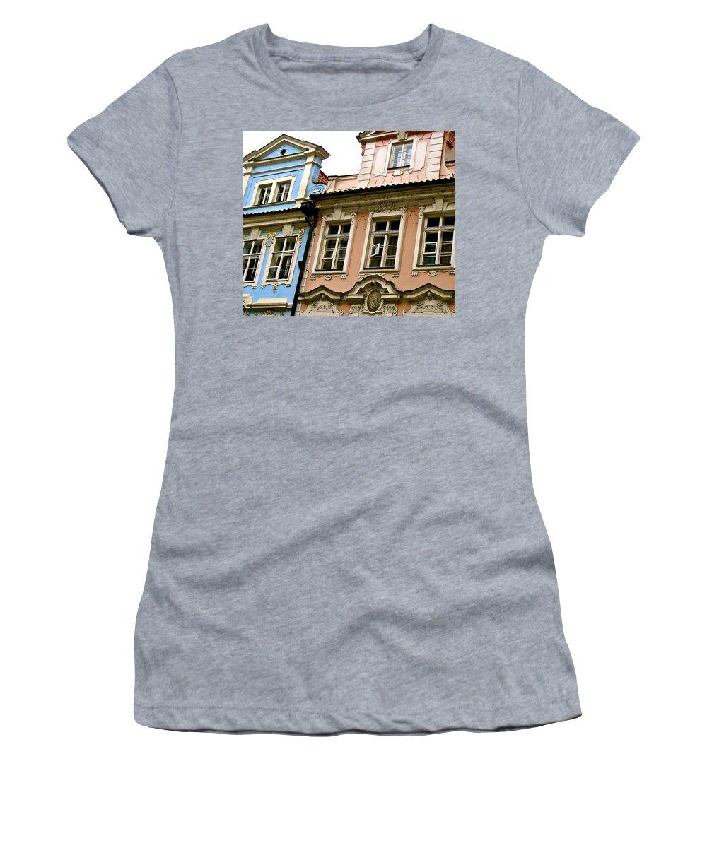Franz Kafka Women's T-Shirt featuring the photograph Kafka's Dream by Ira Shander