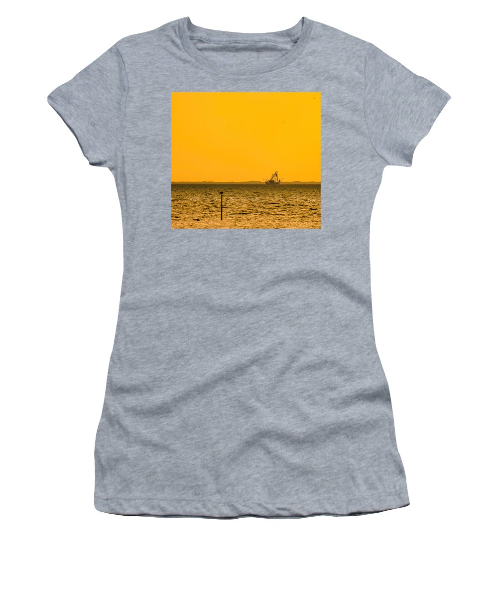Lemon Women's T-Shirt featuring the photograph Lemon Fisher by Paula OMalley