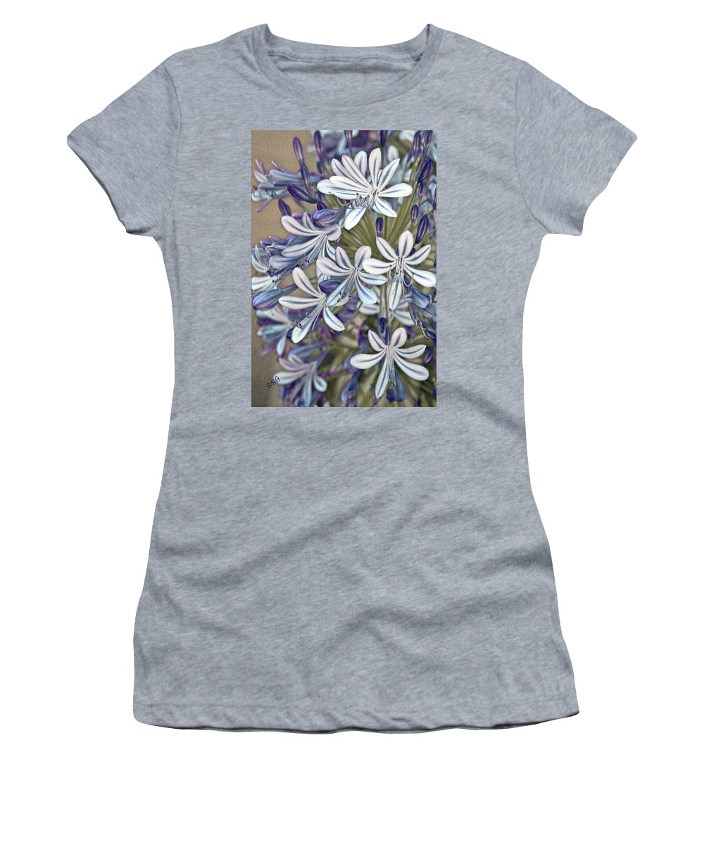 Lily Of The Nile Women's T-Shirt featuring the photograph Lily Of The Nile by Ben and Raisa Gertsberg