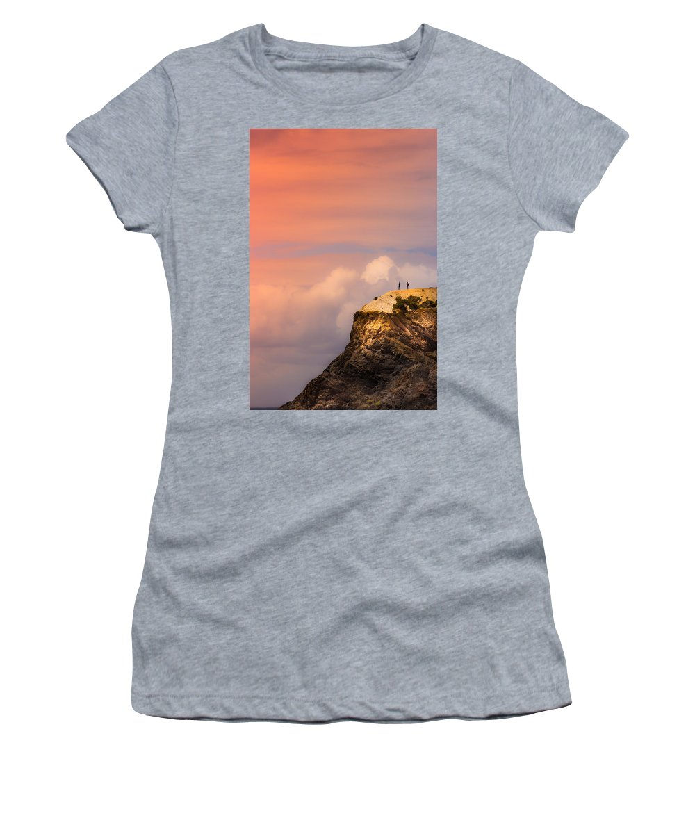 Together Women's T-Shirt featuring the photograph Look There by Edgar Laureano