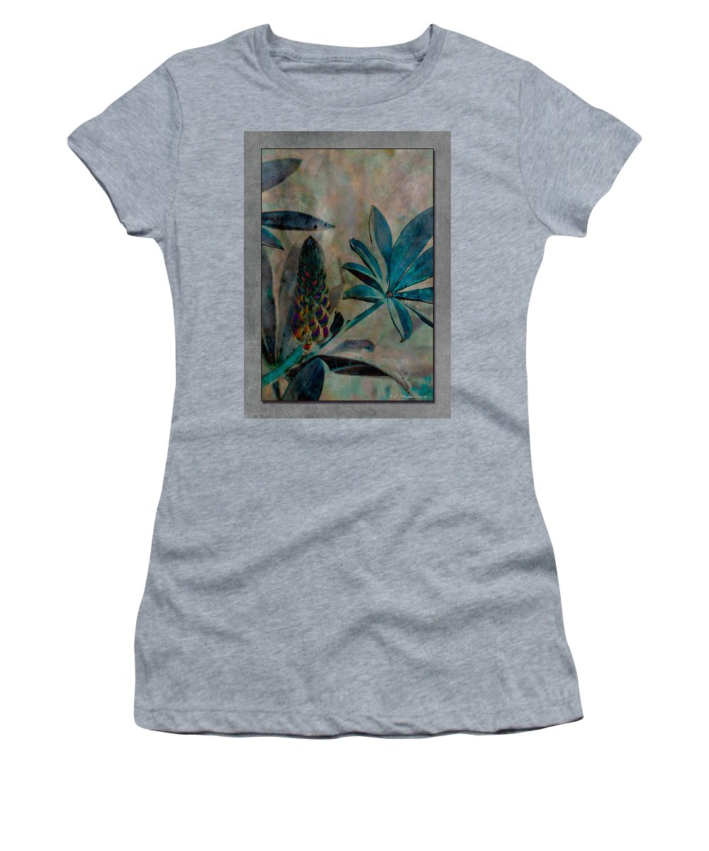 Lupin Women's T-Shirt (Athletic Fit) featuring the photograph Lupin 14 by WB Johnston
