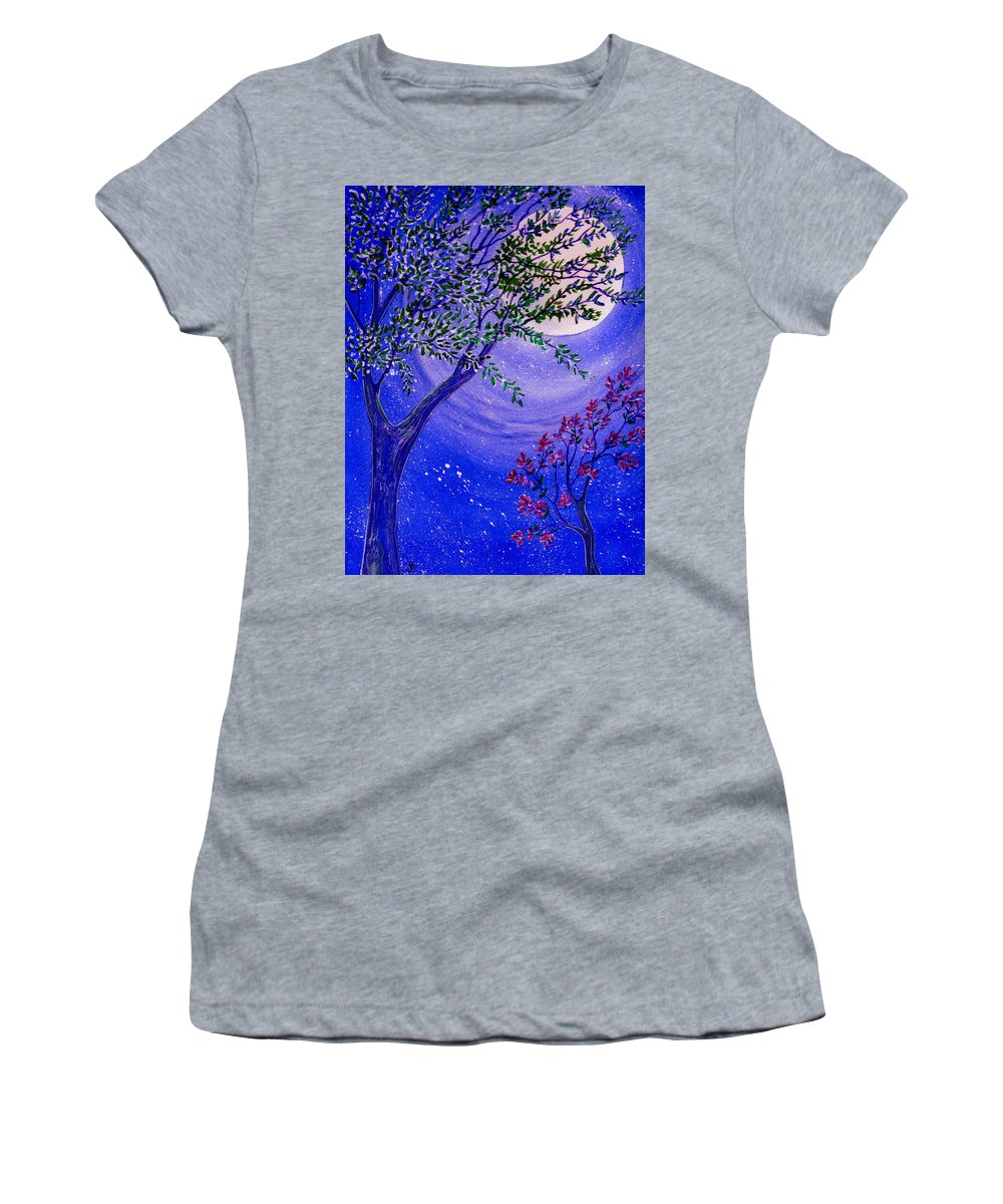 Watercolor Women's T-Shirt featuring the photograph Magical Spring by Brenda Owen