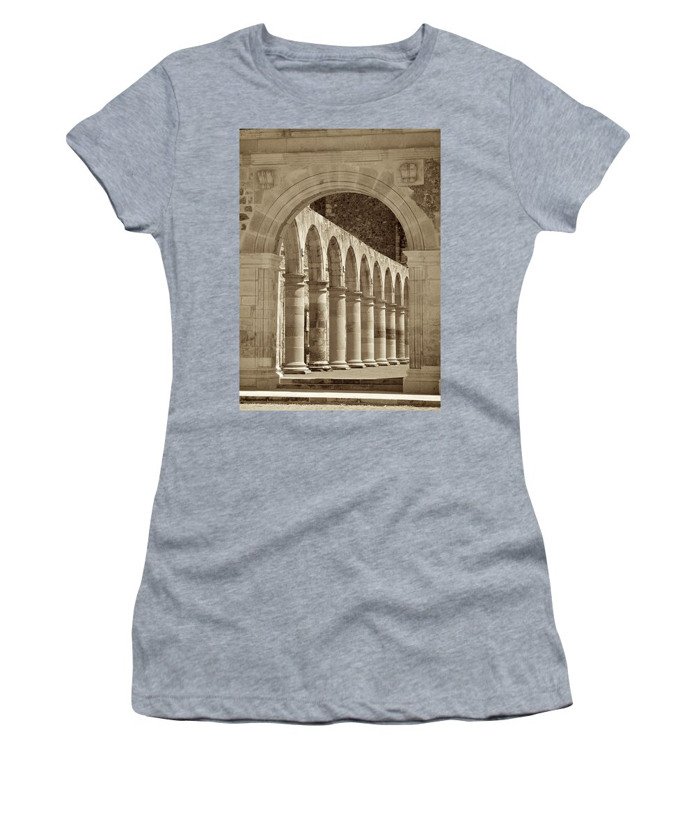 Mexico Women's T-Shirt featuring the photograph Main Entrance by Genaro Rojas