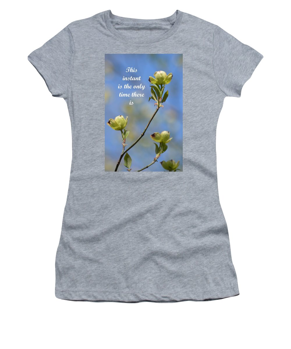 Moment In Time Women's T-Shirt featuring the photograph Moment In Time by Maria Urso