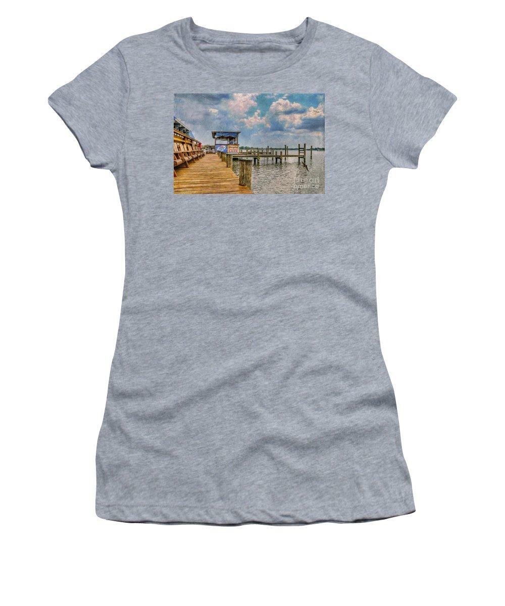 Marina Women's T-Shirt featuring the photograph Monday Monday by Lois Bryan