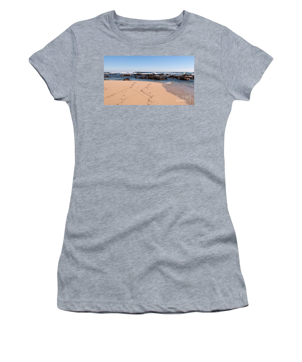 Australia Women's T-Shirt (Athletic Fit) featuring the photograph Moses Rock Beach 02 by Rick Piper Photography