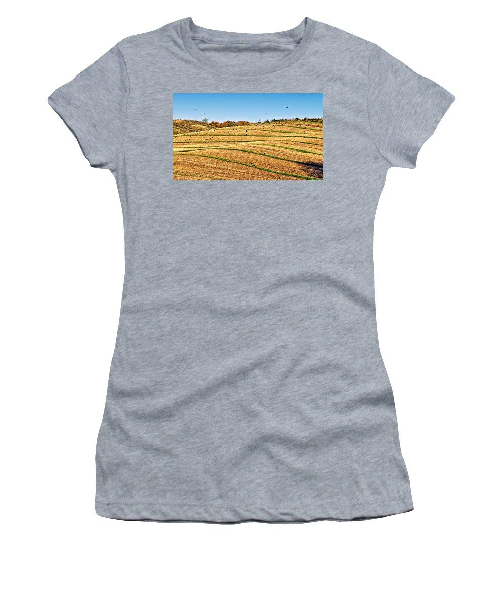 Ontario Women's T-Shirt featuring the photograph Murder's Row by Steve Harrington