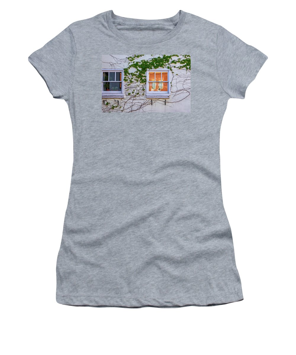 Spring Women's T-Shirt (Athletic Fit) featuring the photograph Now It Begins... by Steve Harrington