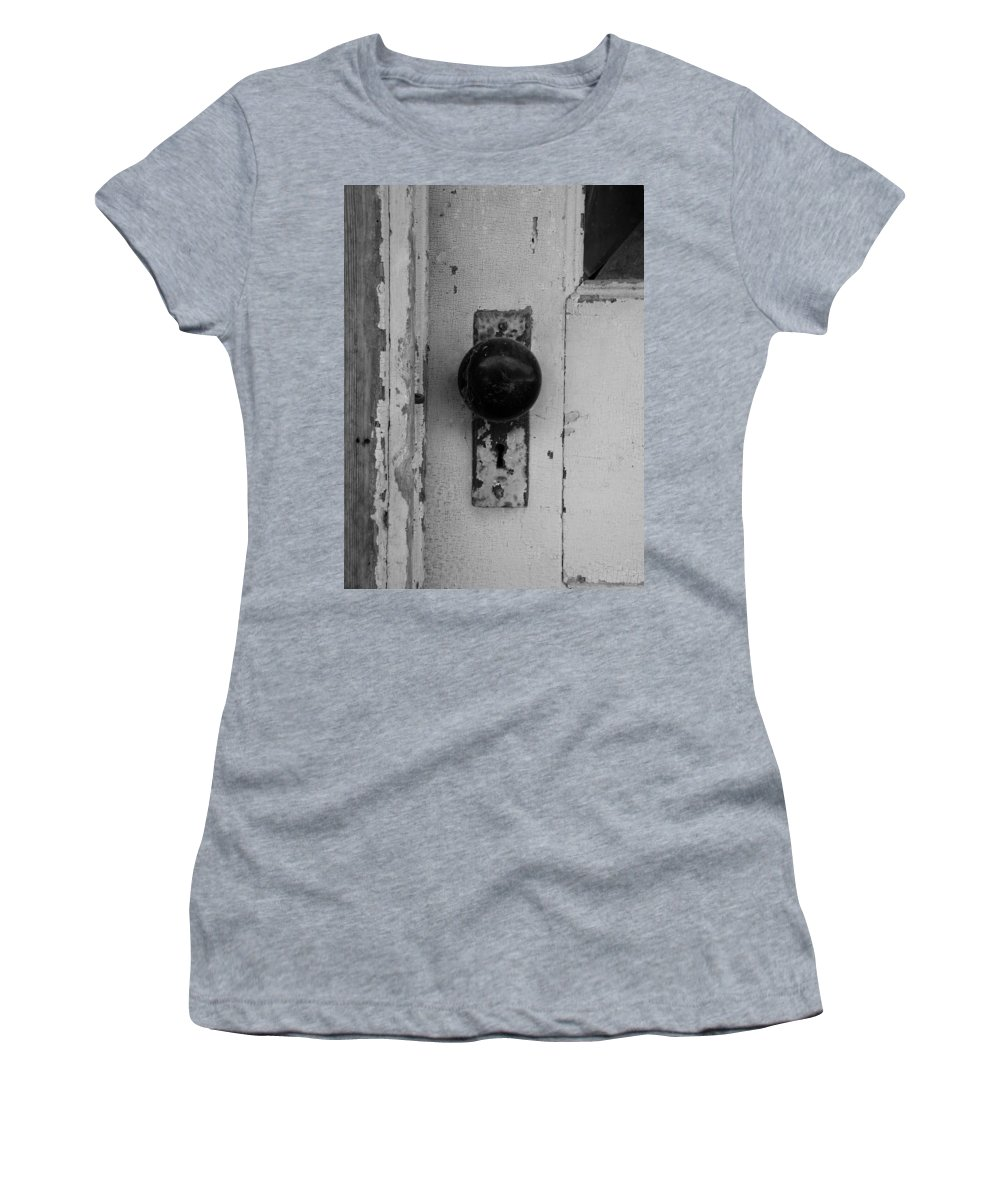 Door Women's T-Shirt featuring the photograph Old Door by Gale Cochran-Smith