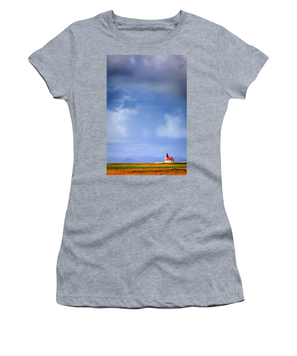 Europe Women's T-Shirt featuring the photograph One-on-one With Heaven by Alexey Stiop
