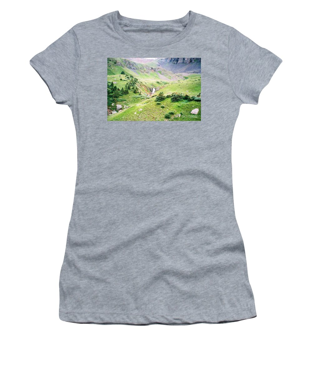 Overlooking Beauty Women's T-Shirt (Athletic Fit) featuring the photograph Overlooking Beauty by Jennifer Lavigne