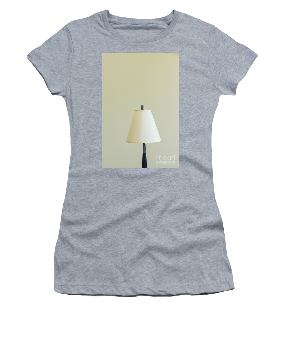 Lamp Women's T-Shirt featuring the photograph Plain And Simple by Margie Hurwich