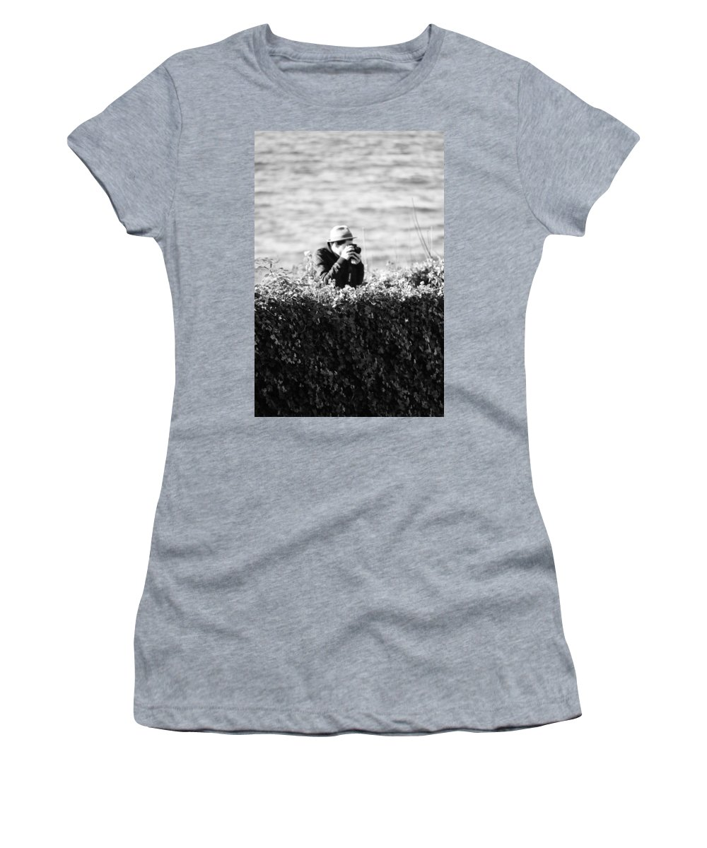 Vancouver Women's T-Shirt featuring the photograph Privat Investigator by The Artist Project