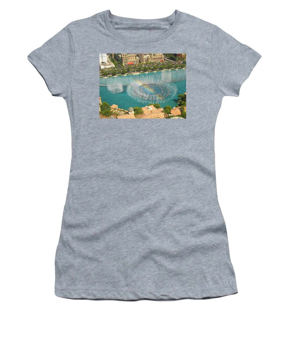 Paris Women's T-Shirt featuring the photograph Promise by Angela J Wright