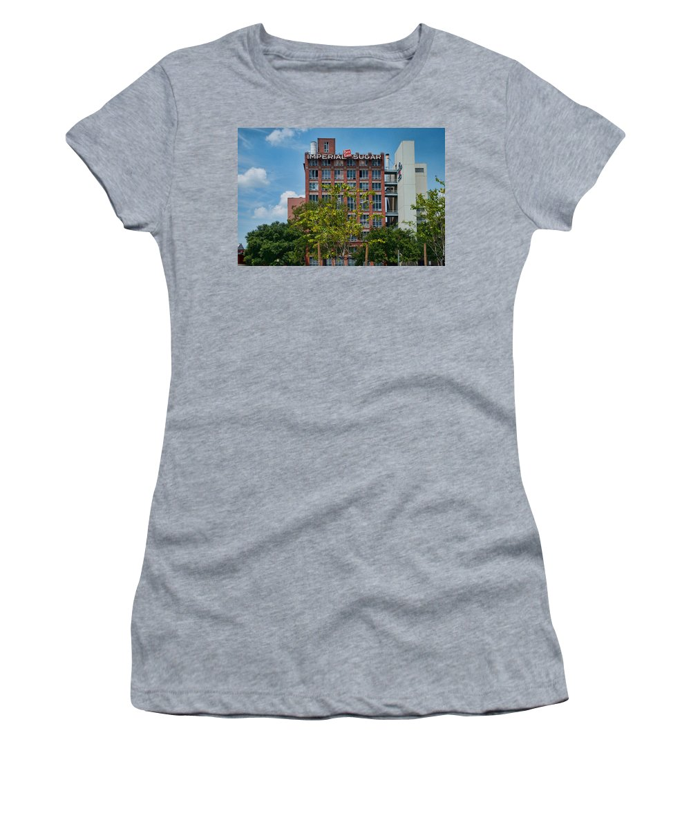 Wright Women's T-Shirt (Athletic Fit) featuring the photograph Pure Cane by Paulette B Wright