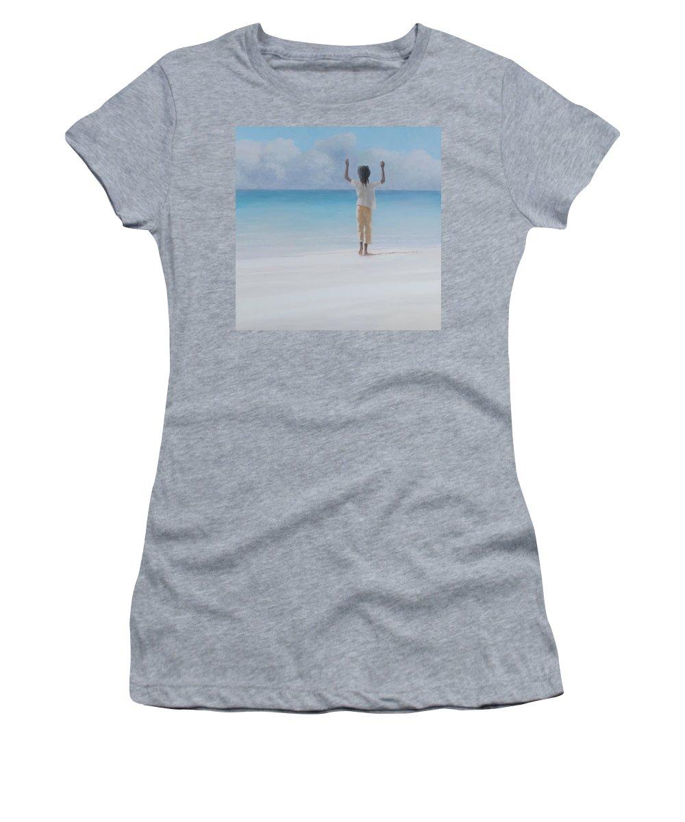 Lincoln Children Photographs Women's T-Shirts