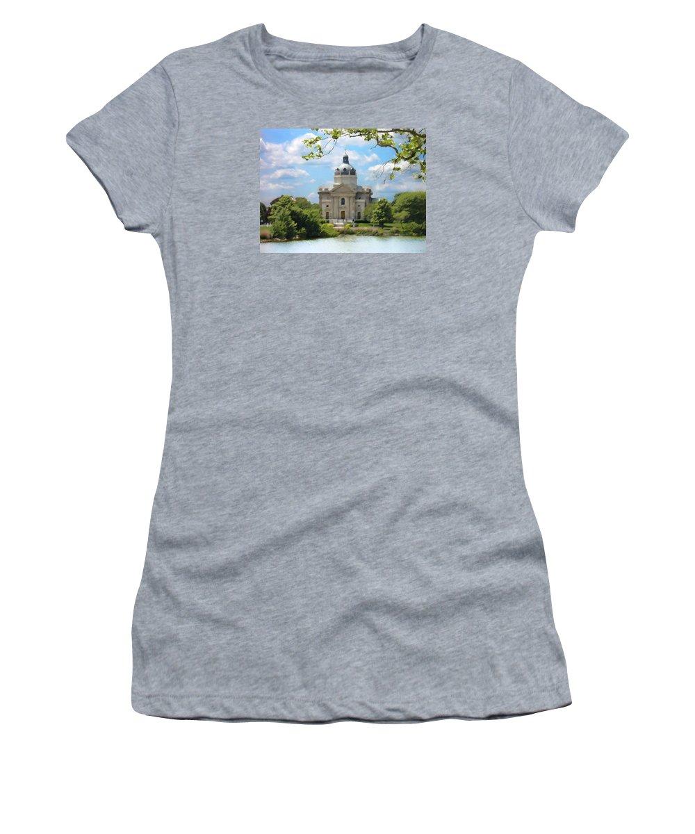 Landscape Women's T-Shirt featuring the digital art Saint Catharines by Steve Karol