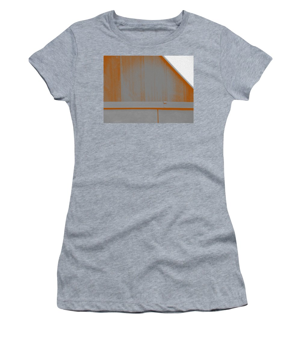 Minimal Women's T-Shirt featuring the photograph Simple Geometry - 3 by Lenore Senior
