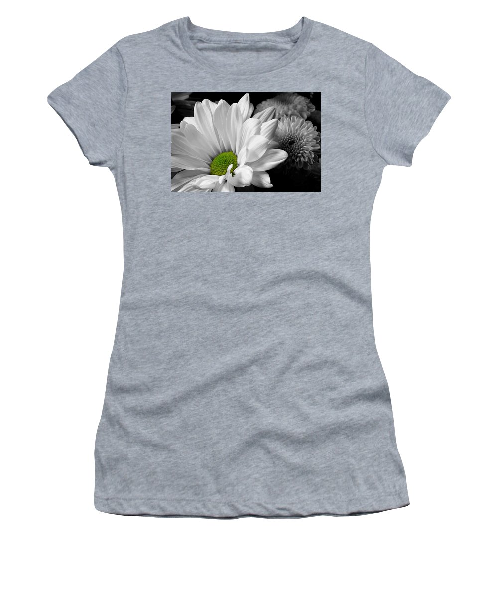 Daisy Women's T-Shirt featuring the photograph Simplicity by Michael Eingle