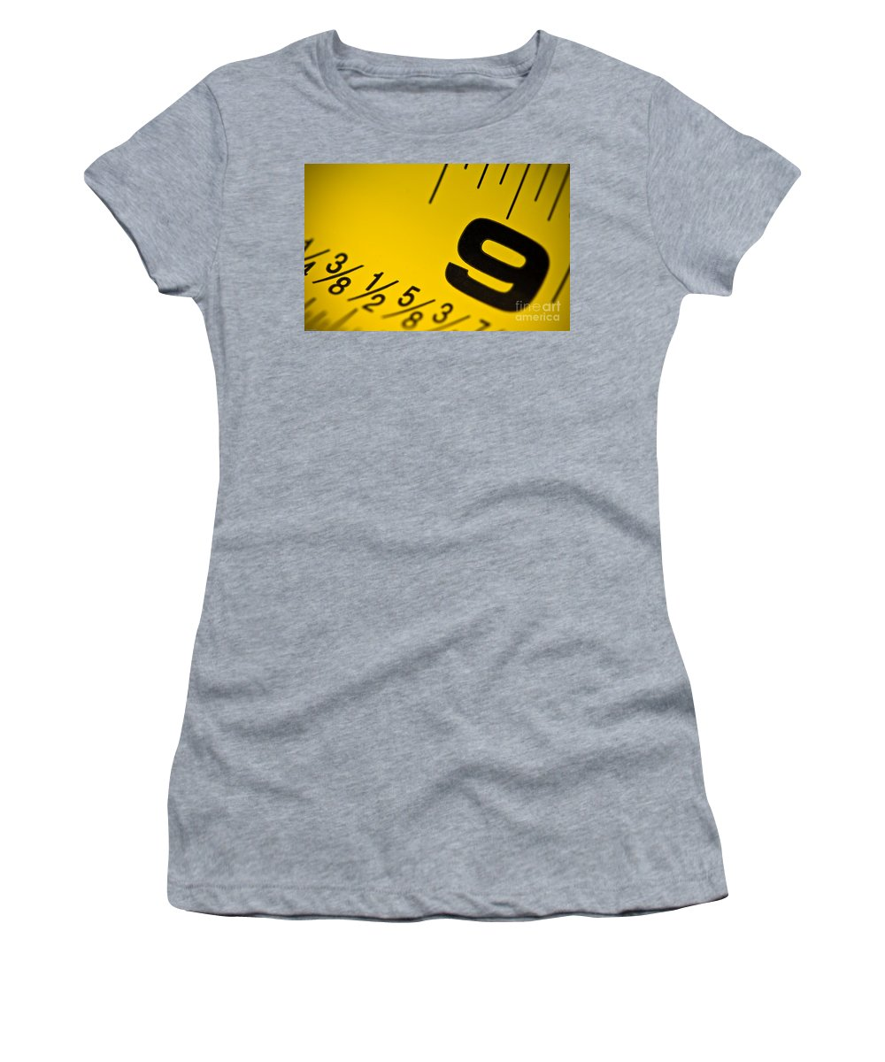 Size Women's T-Shirt (Athletic Fit) featuring the photograph Size Matters by Charles Dobbs