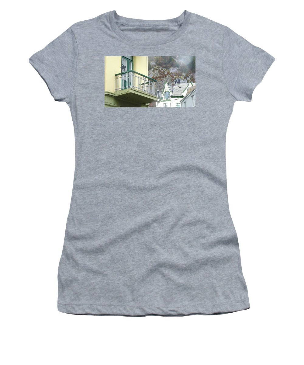 Women's T-Shirt (Athletic Fit) featuring the photograph Sovik Elendom by Katerina Naumenko