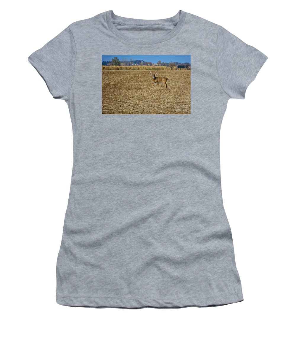 South Dakota Women's T-Shirt (Athletic Fit) featuring the photograph Stand Tall by M Dale