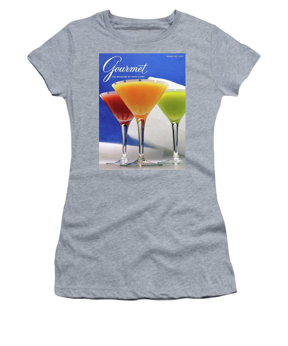 Food Women's T-Shirt featuring the photograph Summer Cocktails by Romulo Yanes