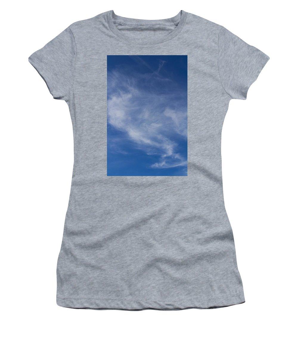 Sky Women's T-Shirt featuring the photograph Summer by David Pyatt