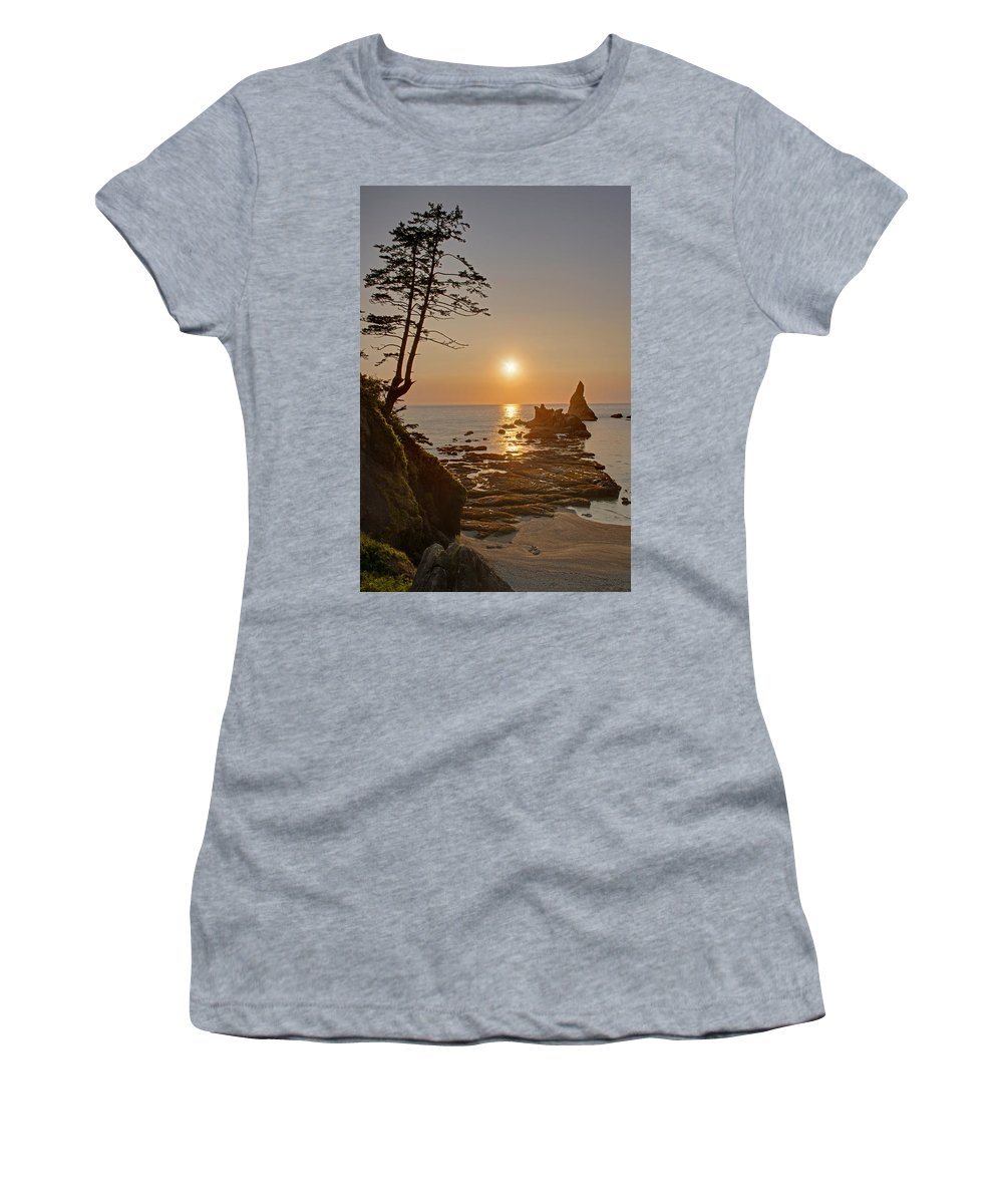 Coast Women's T-Shirt featuring the photograph Sunset De Agave by Mike Reid