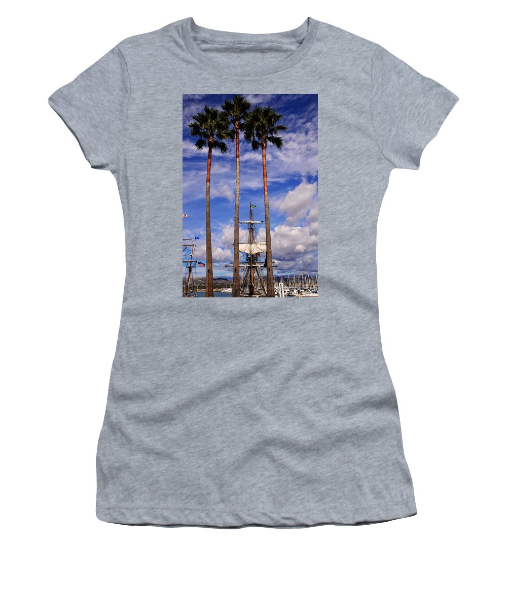 Tall Women's T-Shirt (Athletic Fit) featuring the photograph Tall And Taller by Lynn Bauer
